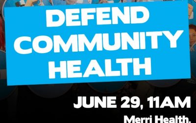 Upcoming Rally to Defend Community Health