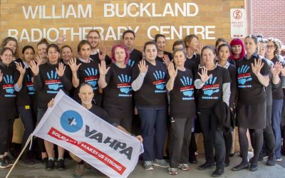 VAHPA takes Alfred Health to the Fair Work Commission …. again
